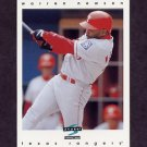 1997 Score Baseball #252 Warren Newson - Texas Rangers