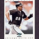 1997 Score Baseball #218 Lyle Mouton - Chicago White Sox