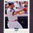1997 Score Baseball #211 Mark Carreon - Cleveland Indians