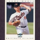 1997 Score Baseball #190 Randy Myers - Baltimore Orioles
