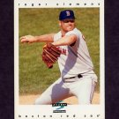 1997 Score Baseball #181 Roger Clemens - Boston Red Sox