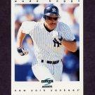 1997 Score Baseball #167 Wade Boggs - New York Yankees