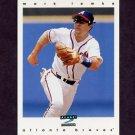 1997 Score Baseball #163 Mark Lemke - Atlanta Braves