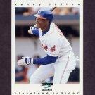 1997 Score Baseball #157 Kenny Lofton - Cleveland Indians
