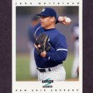 1997 Score Baseball #134 John Wetteland - New York Yankees