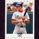 1997 Score Baseball #118 John Mabry - St. Louis Cardinals