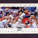 1997 Score Baseball #105 Javier Lopez - Atlanta Braves