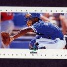 1997 Score Baseball #092 Carlos Delgado - Toronto Blue Jays