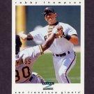1997 Score Baseball #090 Robby Thompson - San Francisco Giants