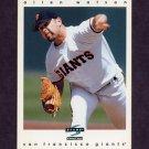 1997 Score Baseball #078 Allen Watson - San Francisco Giants