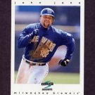 1997 Score Baseball #068 John Jaha - Milwaukee Brewers