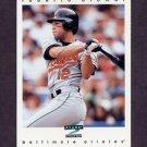 1997 Score Baseball #067 Roberto Alomar - Baltimore Orioles