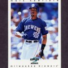 1997 Score Baseball #065 Marc Newfield - Milwaukee Brewers