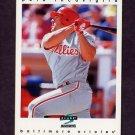 1997 Score Baseball #044 Pete Incaviglia - Baltimore Orioles