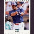 1997 Score Baseball #012 Albert Belle - Cleveland Indians