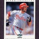 1997 Score Baseball #010 Gregg Jefferies - Philadelphia Phillies