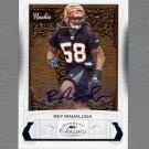 2009 Donruss Classics Football #239 Rey Maualuga RC - Cincinnati Bengals AUTO /299