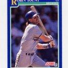 1991 Score Baseball #525 Robin Yount - Milwaukee Brewers