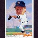 1991 Score Baseball #399 Roger Clemens AS - Boston Red Sox