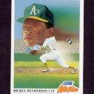 1991 Score Baseball #397 Rickey Henderson AS - Oakland A's
