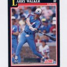 1991 Score Baseball #241 Larry Walker - Montreal Expos