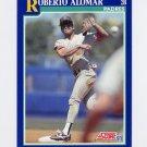 1991 Score Baseball #025 Roberto Alomar - San Diego Padres