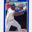 1991 Score Baseball #005 Bo Jackson - Kansas City Royals ExMt