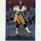 1998 Finest Football #021 Donnell Woolford - Pittsburgh Steelers