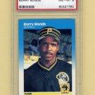 1987 Fleer Baseball #604 Barry Bonds RC - Pittsburgh Pirates Graded PSA NM-MT 8