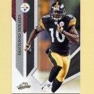 2009 Absolute Memorabilia Retail Football #078 Santonio Holmes - Pittsburgh Steelers