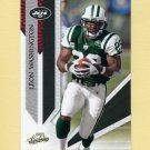 2009 Absolute Memorabilia Retail Football #070 Leon Washington - New York Jets