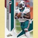 2009 Absolute Memorabilia Retail Football #054 Ronnie Brown - Miami Dolphins