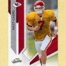 2009 Absolute Memorabilia Retail Football #050 Matt Cassel - Kansas City Chiefs