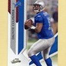 2009 Absolute Memorabilia Retail Football #033 Daunte Culpepper - Detroit Lions