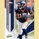 2009 Absolute Memorabilia Retail Football #029 Brandon Marshall - Denver Broncos