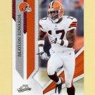 2009 Absolute Memorabilia Retail Football #024 Braylon Edwards - Cleveland Browns