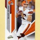 2009 Absolute Memorabilia Retail Football #023 Brady Quinn - Cleveland Browns