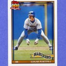 1991 Topps Baseball #607 Edgar Martinez - Seattle Mariners