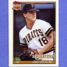 1991 Topps Baseball #425 Andy Van Slyke - Pittsburgh Pirates