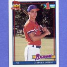 1991 Topps Baseball #333 Chipper Jones RC - Atlanta Braves