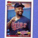 1991 Topps Baseball #300 Kirby Puckett - Minnesota Twins