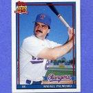 1991 Topps Baseball #295 Rafael Palmeiro - Texas Rangers