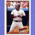 1991 Topps Baseball #180 Tony Gwynn - San Diego Padres
