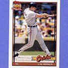 1991 Topps Baseball #150 Cal Ripken - Baltimore Orioles