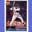 1991 Topps Baseball #079 Frank Thomas - Chicago White Sox