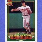 1991 Topps Baseball #005 Cal Ripken RB - Baltimore Orioles