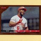 1996 Score Baseball Dugout Collection #B062 Ron Gant - Cincinnati Reds
