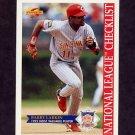 1996 Score Baseball #516 Barry Larkin CL - Cincinnati Reds