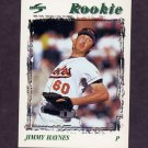 1996 Score Baseball #509 Jimmy Haynes - Baltimore Orioles