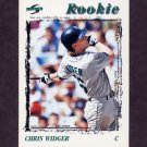 1996 Score Baseball #503 Chris Widger - Seattle Mariners
